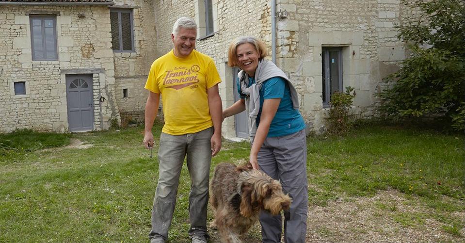 Op schildervakantie mét hond, in Frankrijk